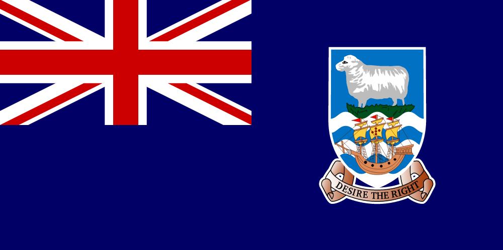 drapeau des malouines